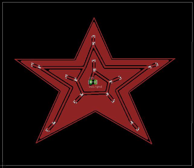 Star Shaped LED Circuit | Circuit Design